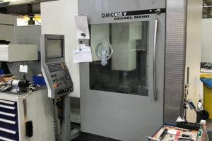 DMG DMC 835 V Linear  5 Achsen Bearbeitungszentrum