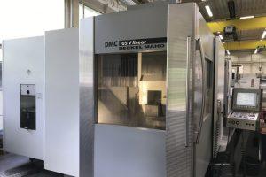 DMG DMC 105 V Linear  5 Achsen Bearbeitungszentrum